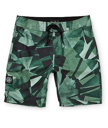 Diamond Supply Co Camo Simplicity 21.5 Board Shorts