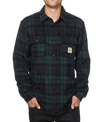 Diamond Supply Co Caribou Flannel