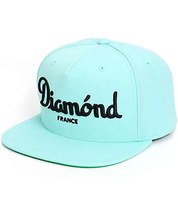 Diamond Supply Co Champagne Snapback Hat