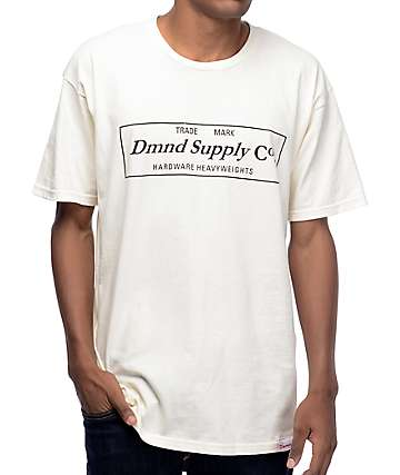 Diamond Supply Co Cream T-Shirt