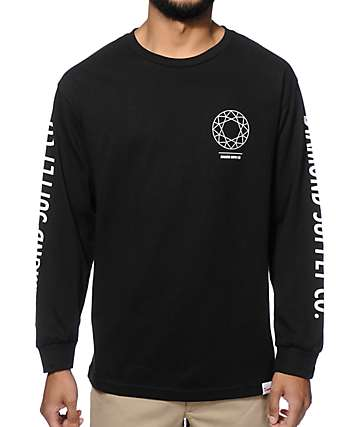 Diamond Supply Co DTC Long Sleeve T-Shirt