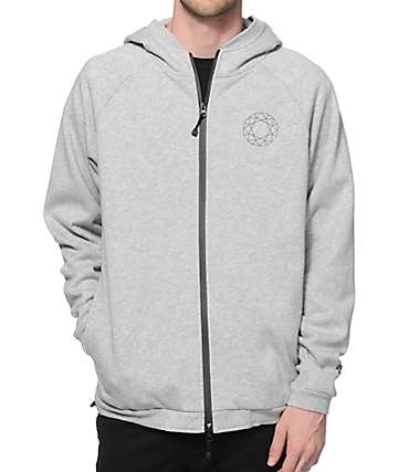 Diamond Supply Co DTC Zip Up Hoodie