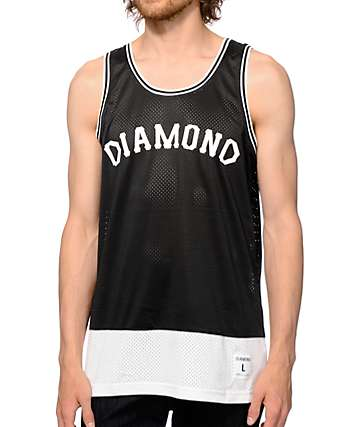 Diamond Supply Co Diamond Arc Basketball Jersey