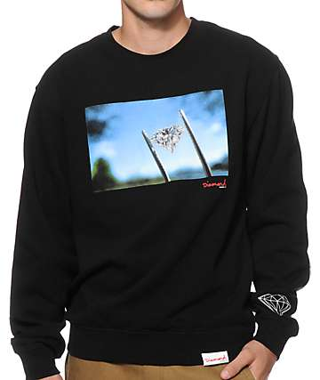 Diamond Supply Co Diamond Sky Crew Neck Sweatshirt