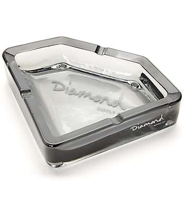 Diamond Supply Co Diamond Smoke Black Ash Tray