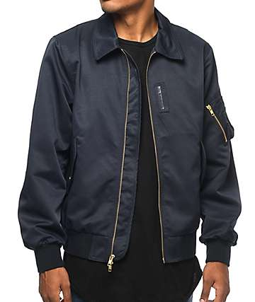 Diamond Supply Co Embarcadero Navy Bomber Jacket