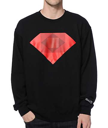 Diamond Supply Co Emerald Rotoscope Crew Neck Sweatshirt