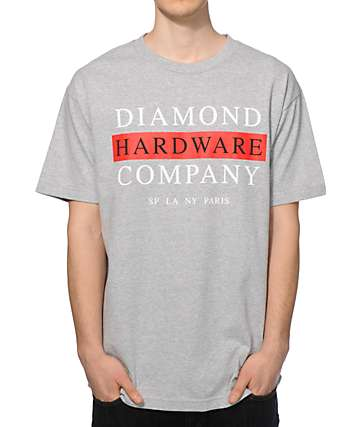Diamond Supply Co Hardware Stack T-Shirt