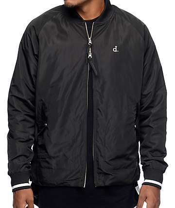 Diamond Supply Co Heavyweights Black Stadium Jacket