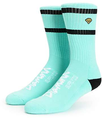 Diamond Supply Co High Stripe Crew Socks