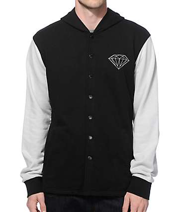 Diamond Supply Co Hooded Shirt Jacket