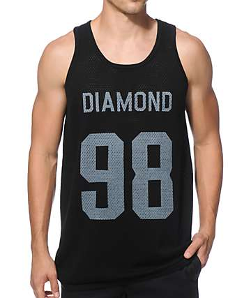 Diamond Supply Co Jackson Mesh Tank Top