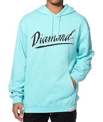 Diamond Supply Co Jagged Script Hoodie