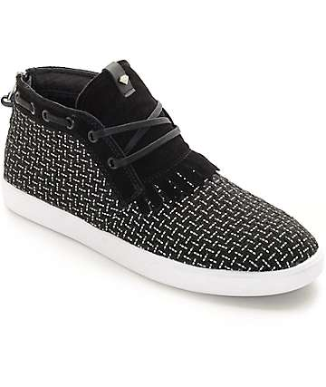 Diamond Supply Co Jasper Black 3M Woven Shoes