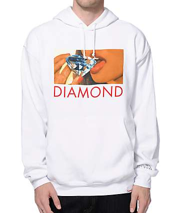 Diamond Supply Co Lips Hoodie