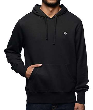 Diamond Supply Co Micro Brilliant Black Hoodie