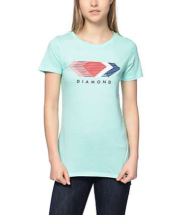 Diamond Supply Co Motion Mint Crew T-Shirt