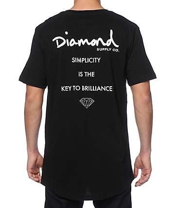 Diamond Supply Co Motto Long T-Shirt