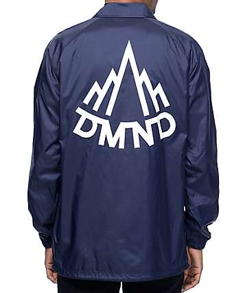 Diamond Supply Co Mountaineer chaqueta entrenador en azul marino