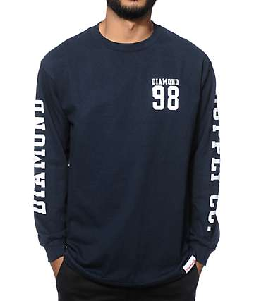 Diamond Supply Co Nine Eight Long Sleeve T-Shirt