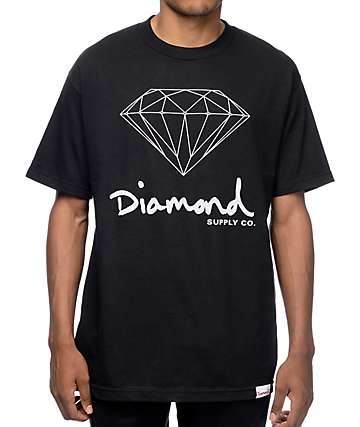 Diamond Supply Co OG Black T-Shirt