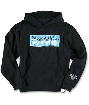 Diamond Supply Co OG Palms Black Hoodie