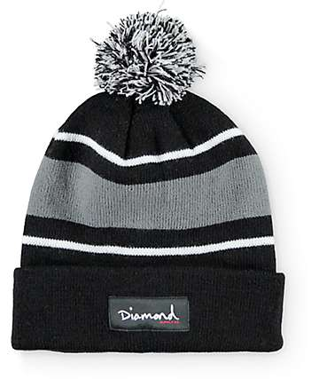 Diamond Supply Co OG Script Pom Beanie