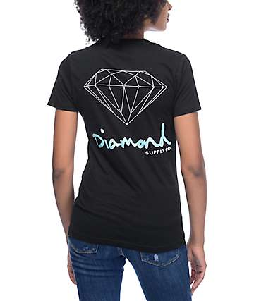 Diamond Supply Co OG Sign Black T-Shirt