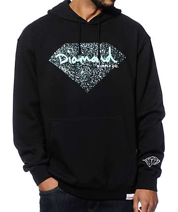Diamond Supply Co OG Splatter Hoodie