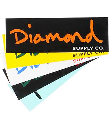 Diamond Supply Co OG pegatina escrita