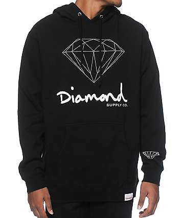 Diamond Supply Co OG signo sudadera