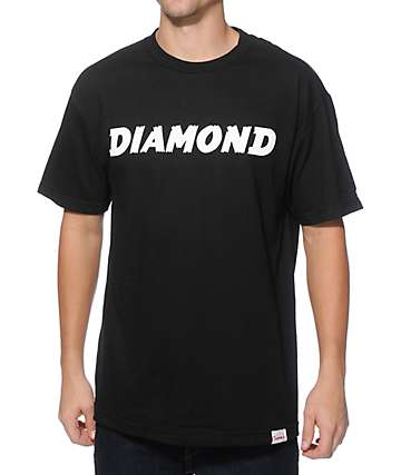 Diamond Supply Co Painted T-Shirt