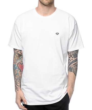 Diamond Supply Co Pavilion White T-Shirt
