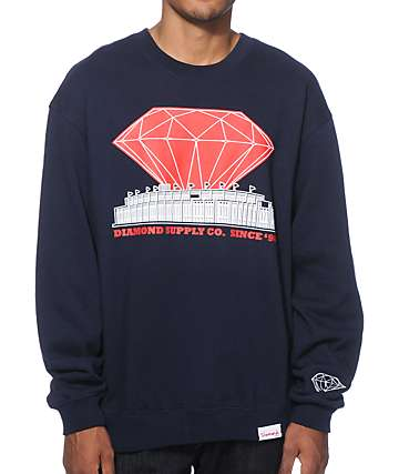Diamond Supply Co Pre-Game Crew Neck Sweatshirt
