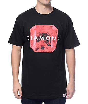 Diamond Supply Co Rare Gem Black T-Shirt