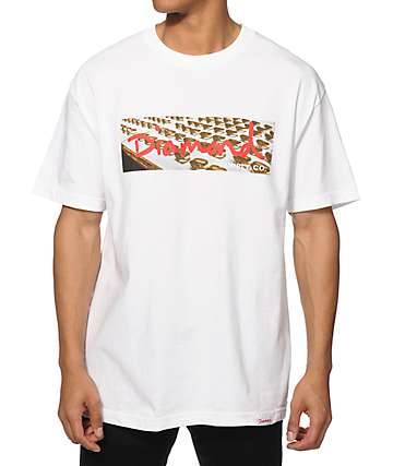 Diamond Supply Co Ring Box Logo T-Shirt
