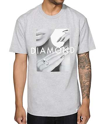 Diamond Supply Co Ring Girl T-Shirt