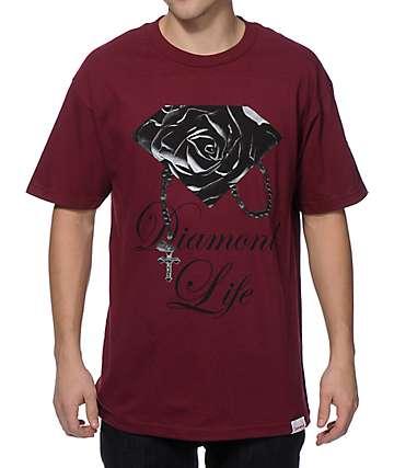 Diamond Supply Co Rose Brilliant camiseta