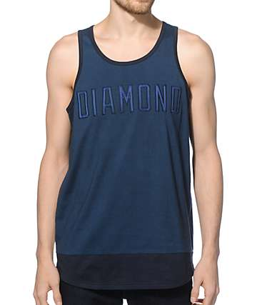 Diamond Supply Co School Yard Tank Top
