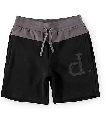 Diamond Supply Co Schoolyard Black Sweatshorts