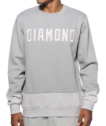 Diamond Supply Co Schoolyard Crew Neck Sweatshirt