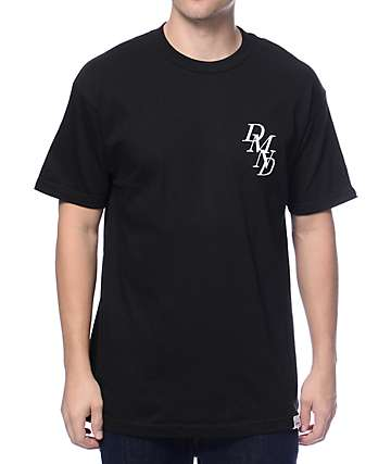 Diamond Supply Co Serif Chest Black T-Shirt
