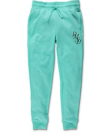 Diamond Supply Co Serif Mint Sweatpants