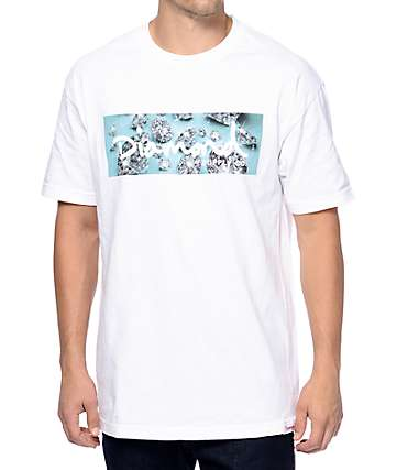 Diamond Supply Co Shine White T-Shirt
