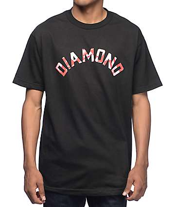 Diamond Supply Co Simplicity Arch Black T-Shirt