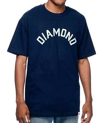 Diamond Supply Co Simplicity Arch Navy T-Shirt