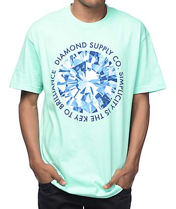 Diamond Supply Co Simplicity Mint T-Shirt