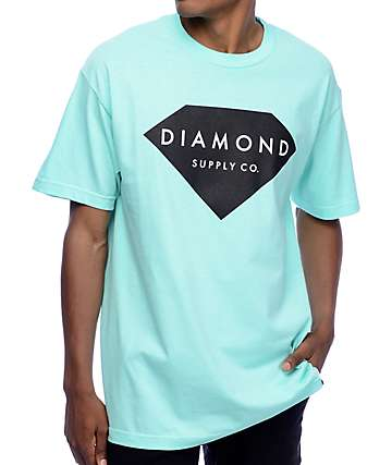 Diamond Supply Co Solid Stone camiseta azul
