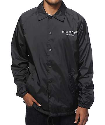 Diamond Supply Co Stone Cut Coach Jacket