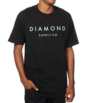 Diamond Supply Co Stone Cut T-Shirt